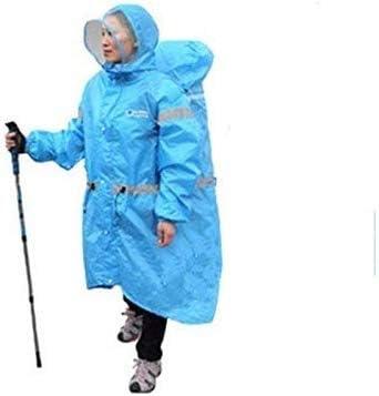 Dongshop bike poncho po レインコートポンチョ、テーマパーク、ハイキング、キャンプ、スポーツイベントと雨のアウトドア用防水雨ポンチョ軽量再利用可能なハイキングフード付きコートジャケット (Color : B)