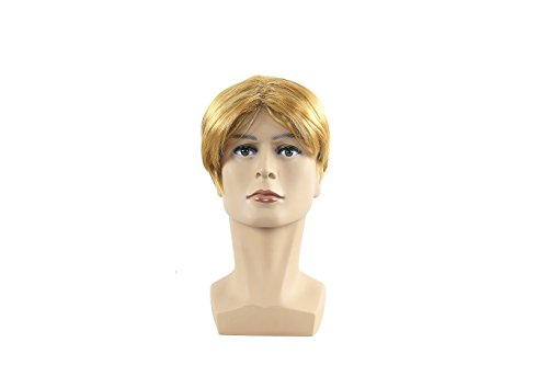 Donald Trump Gold Short Hair Men's Wig Cosplay Halloween Custome - Custome Wigs