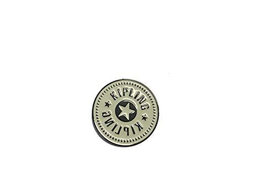 Kipling Logo Pin Llavero New White Blanco 0.01 Liters 0 cm