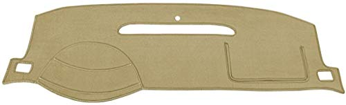 Seat Covers Unlimited Cadillac DeVille Dash Cover Mat Pad - Fits 2000-2005 (Custom Velour, Tan)