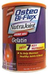 Osteo Bi-Flex NutraJoint avec de la gélatine 11 oz Pwdr
