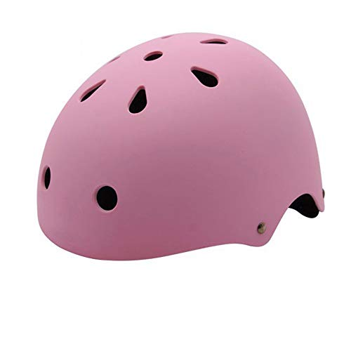 Children'S Helmet Skating Skateboard Helmet Climbing Drifting Helmet Plum Blossom Helmet Outdoor Supplies Inner Cushion Beautiful and Comfortable,Pink (Best Helmet For Drifting)