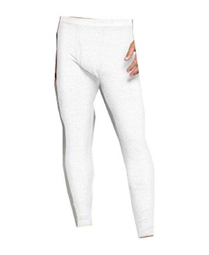 Alfani Men's Underwear, Waffle Knit Thermal Long Underwear, White, Small