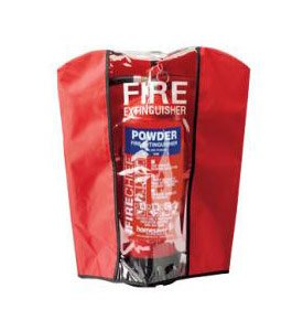 Fire extinguisher cover red 6kg/6ltr and 9ltr/9kg Firemart