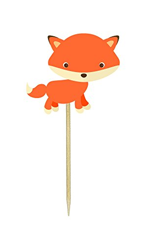 Baby Fox Cupcake Toppers