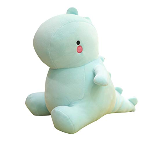 Wffo Cute Plush Toys Dinosaur Soft Stuffed Animals Dolls Toys Kids Birthday Gift New (Light Blue) -