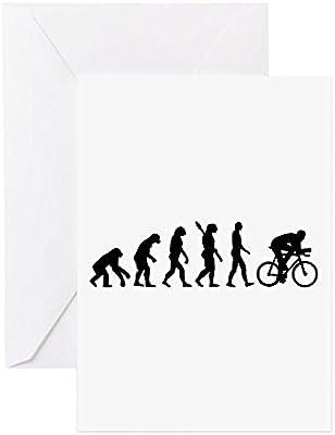 CafePress – Evolución ciclismo bicicleta – Tarjeta de felicitación ...