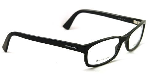 amazoncom giorgio armani eyeglasses optical eyewear ga 765 807 black ga765 clothing