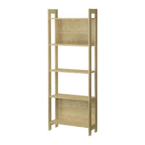 Ikea LAIVA - Bibliothèque, Effet Bouleau - 62x165 cm