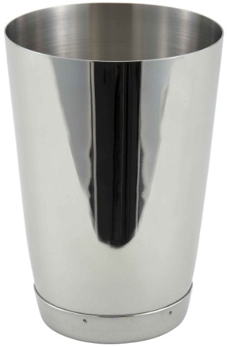 Winco Stainless Steel Bar Shaker, 15-Ounce