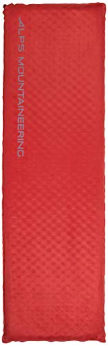 - ALPS Mountaineering Apex Self-Inflating Air Pad, Long, Red
