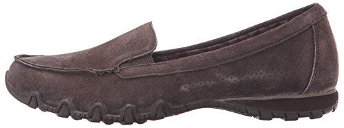 Material De nbsp;pedestrian Relaxed Para Bikers Chocolate Suede Sintético Mujer Zapatillas Skechers FUfAgqw