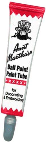 Aunt Martha's Ballpoint Paint Tubes 1 Ounce-Red