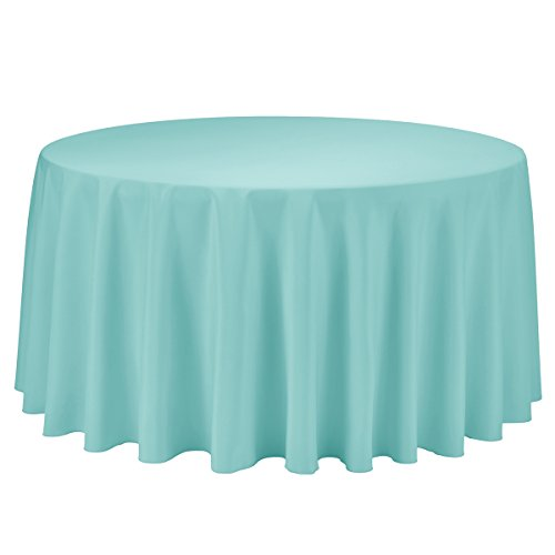 Remedios 120 inch Round Polyester Tablecloth