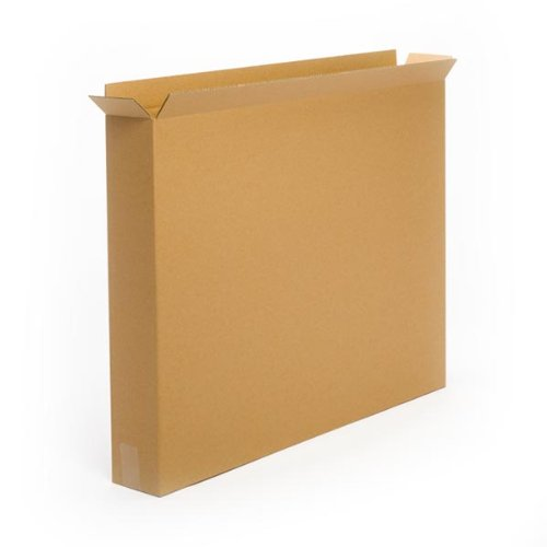 Pratt PRA0145 100% Recycled Corrugated Cardboard Box, 30