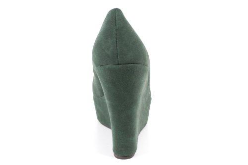 Boxfresh Swich Cm Waxed Suede Ivy Green Green