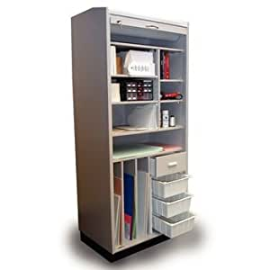 amazon storage cabinets sammons storage cabinet with roll up 10556