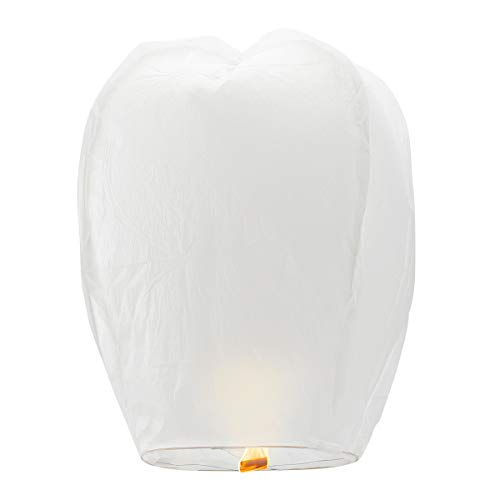 5 Pack Chinese Lanterns ECO Friendly - 100% Biodegradable- Beautiful Lanterns for Birthdays, Souvenirs