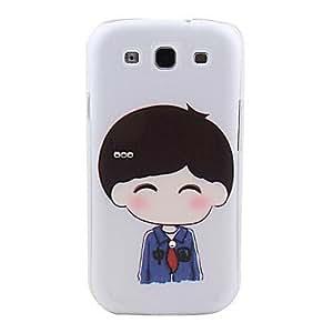 Zaki-Schoolboy Pattern Hard Case with Rhinestone for Samsung Galaxy S3 I9300