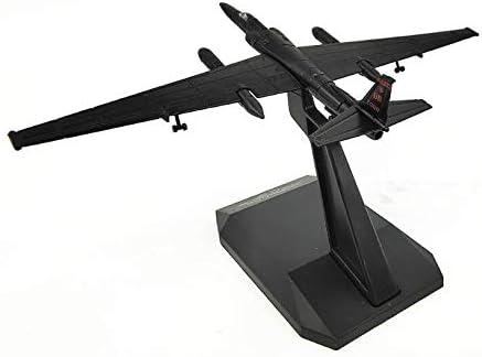 Herpa USAF Lockheed ER-2 U2 Dragon Lady Reg.080 Black 1//200 diecast Plane Model Aircraft