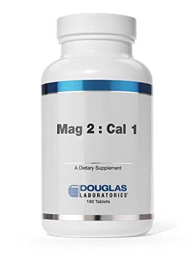 Douglas Laboratories - Mag 2: Cal 1 - Supports Bone Metabolism and Cardiovascular Health* - 180 ()