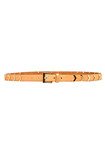 Linea Pelle Hip Belt (Linea Pelle Hayden Chevron Stud Hip Belt Large)
