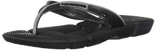 Steel Power Black Sandal Men's Grey Havaianas FaYxIHq