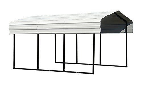 Arrow Backyard Outdoor Garage Shelter Carport 10'X24'X7' 7 CTNS by ShelterLogic