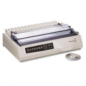 OKI62412001 - Oki Microline 391 24-Pin Dot Matrix Turbo Printer by OKI