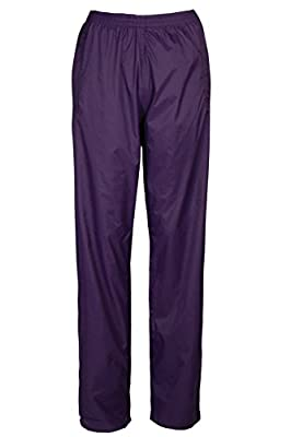 Mountain Warehouse Pakka Womens Rain Pants -Waterproof Ladies Pants