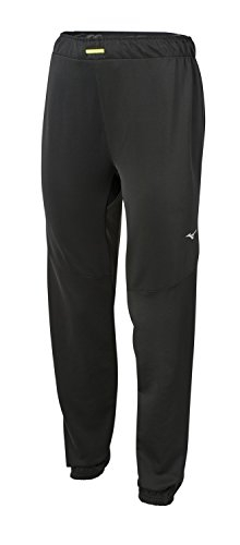 (Mizuno Running Womens Alpha Track Pants, Black, Small)