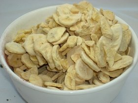 Freeze Dried Bananas- 5 lb Bulk Bag