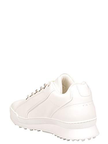Bianco 501612D26009030 Sneakers Pelle Saint Laurent Uomo xaYfnXq