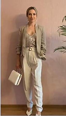 UNibelle Top Paillettes Donna Smanicato Canotte Casual Gilet Elegante S-XXL