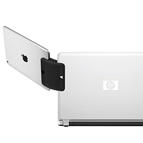 Side Clip Mount - Daite Dual Display Side Mount Clip, Tablet & Phone Mountie Side, Apply to Laptop or UltraBook (Black)