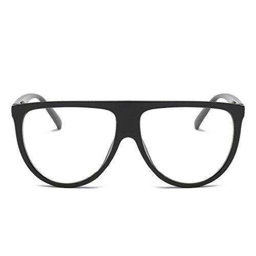 lente sombreados gafas a Forme los unisex las sol a vidrios de Negro2 Forme aviador de vendimia la finos Tefamore Hqfpvp