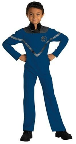 Mr Fantastic Standard Costumes (Fantastic Four Mr. Fantastic Standard Child Costume: Size 4-6 by Disguise)
