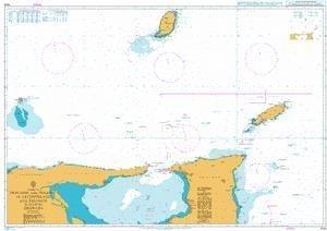 Ba Diagramm 1044  Trinidad und Tobago zu östlichste Los testigos inkl. Grenada von UNITED KINGDOM Hydrographic Büro