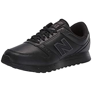 New Balance Women's 311 V2 Sneaker, Black/Black, 5 W US