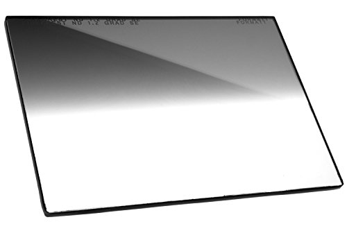 Firecrest ND 4x5.65 Neutral Density Horizontal Soft Edge Graduated Filter 1.2 (4 Stops) for video, broadcast and cinema production, compatible with all 4x5.65
