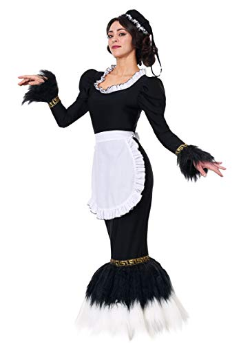 (Women's French Feather Duster Costume Large)
