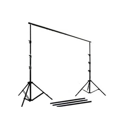 Image of CowboyStudio 3000 Support 12 Feet Wide Heavy Duty Backdrop Support System with Carrying Bag Background Support Equipment