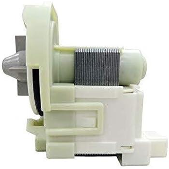 Ecumfy W10536347 W10155921 Washer Drain Pump Compatible with Whirlpool Maytag Washer Replaces W10049390 W10217134 AP5650269