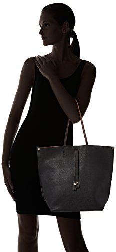 Pclellis 16 Women's PIECES 27 Shopper cm x Handbag Black 30 wxhxd Schwarz ZwqdF8Hcq