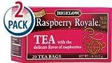 Cheap Bigelow Tea Raspberry Royale — 20 Tea Bags Each / Pack of 2