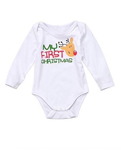 Gogoboi-MY-FIRST-CHRISTMAS-Newborn-Baby-Boys-Girls-Clothes-Long-Sleeve-Romper-Bodysuit-for-Infant-Unisex