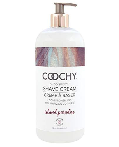 Coochy Shave Cream Island Paradise 32 Oz by Coochy
