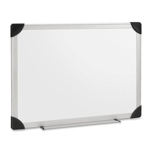 Lorell Dry-Erase Board, 6 by 4-Feet, Aluminum/White