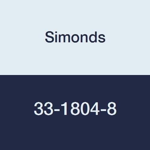 Simonds 33-1804-8 Hacksaw Blade, High Speed, Molybdenum, 18'' Long, 4 Teeth Per Inch