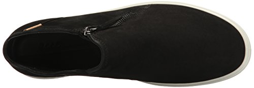 ECCO Soft 7 Ladies, Zapatillas Altas para Mujer Negro (Black/powder)